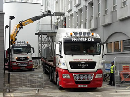 lorry mounted crane hire 1